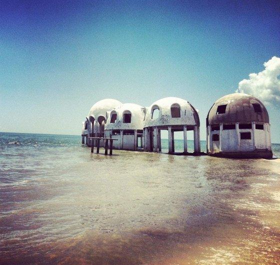 Artık içinde kimsenin yaşamadığı deniz evleri; Güneybatı Florida, ABD