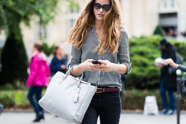 Paris Moda Haftası'nda Sokak Stilleri