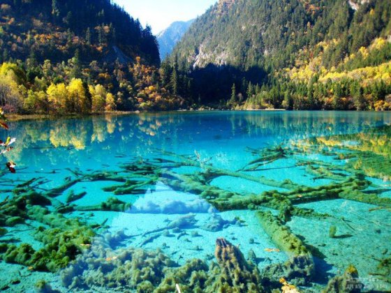 Jiuzhaigou Ulusal Parkı, Çin