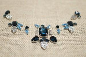 pvc rhinestone necklace 5