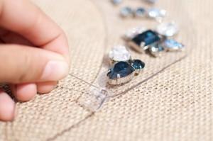 pvc rhinestone necklace 8