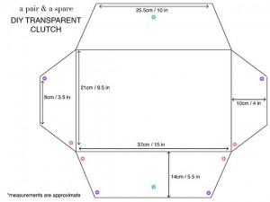 transparent clutch 4