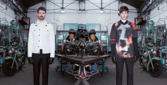 Givenchy: 2013 Erkek Sonbahar Koleksiyonu