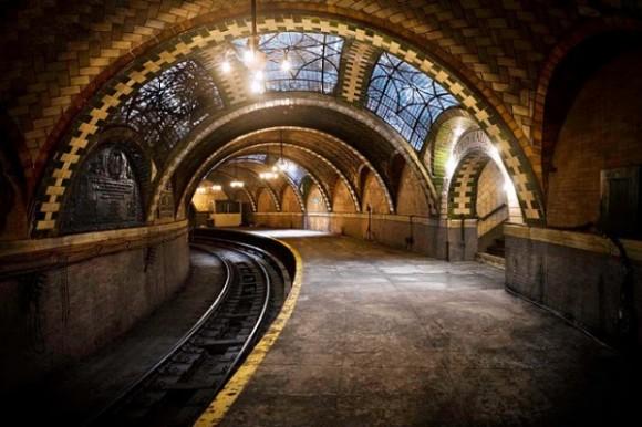 New York'un Bilinmeyen Metro istasyonu