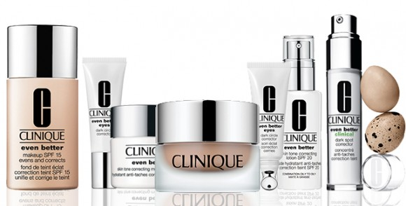 Cilt lekelerine karşı Clinique  çözüm serisi