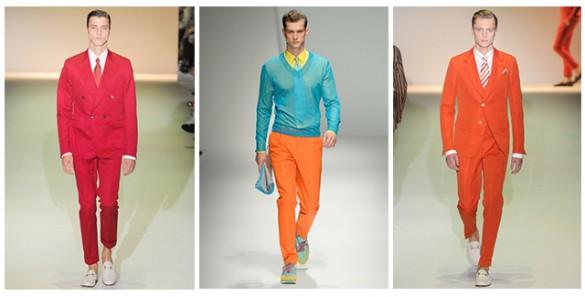 2013 İlkbahar-Yaz Erkek Modası: Neon Renkler