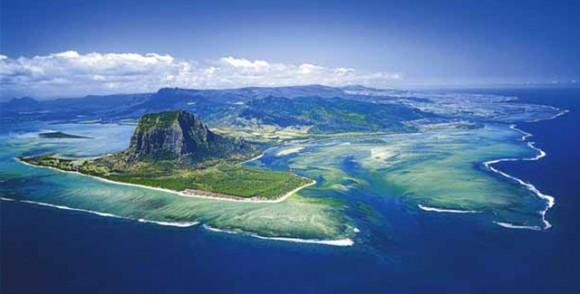 Görsel şölen: Masmavi Mauritius Adası