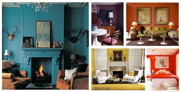 Evinizin her odası için farklı renkler!