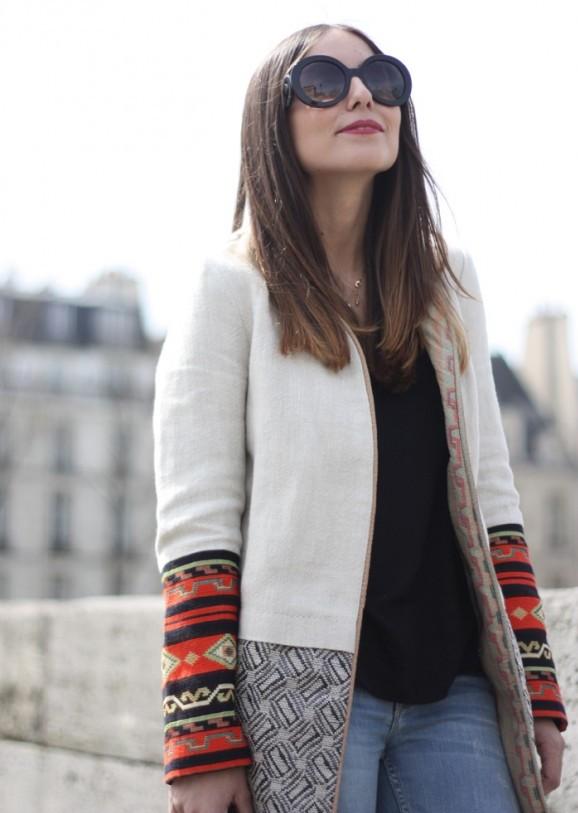 Erea Louro'yla, moda ve bloggerlık üzerine