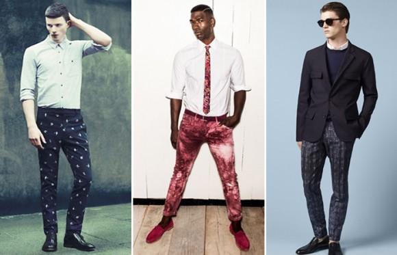 Baskılı Pantolonlar - Erkek Modası