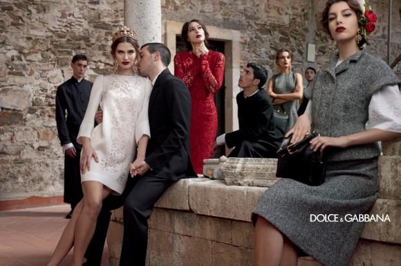 Dolce Gabbana'dan İtalyan Modası