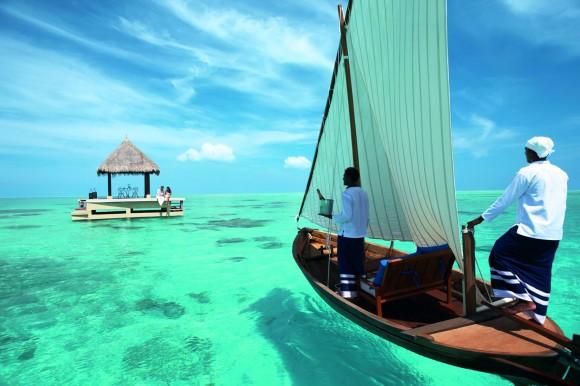 Görsel Şölen / Mavinin her tonuyla Maldivler