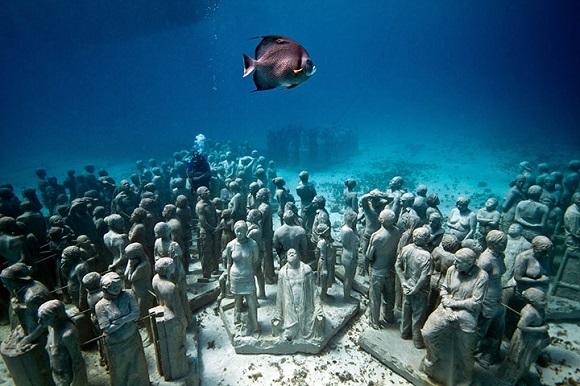 Denizin altına saklanmış muhteşem Görüntüler