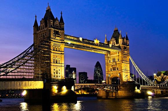 Muhteşem köprüleri ile Londra
