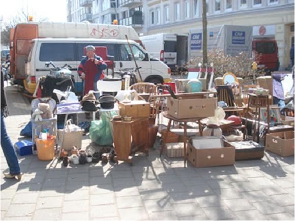Avrupa güncesi: Flohmarkt