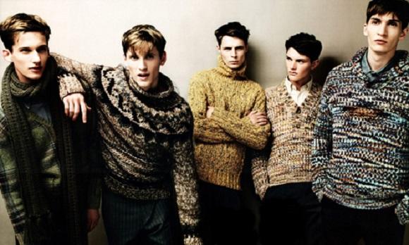 Erkek modasında kış etkileri: Örgü