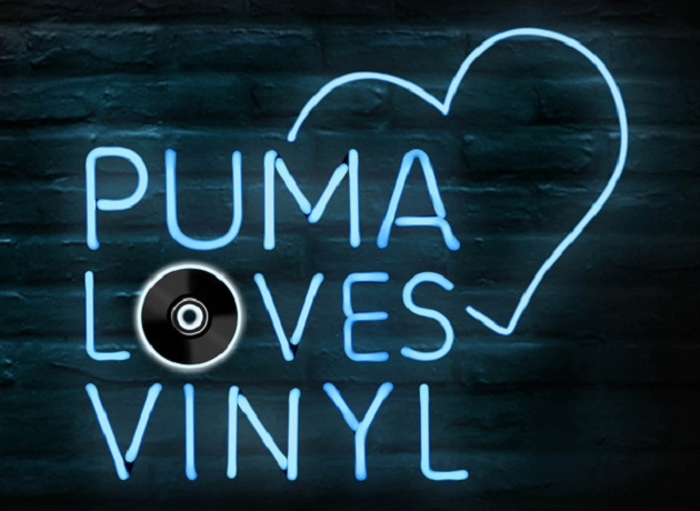 puma loves vinyl