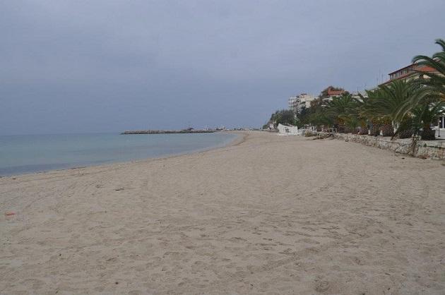 Halkidiki sahili