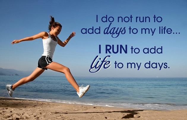 I run to add