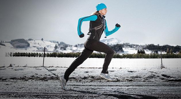 Kış mevsiminde koşu