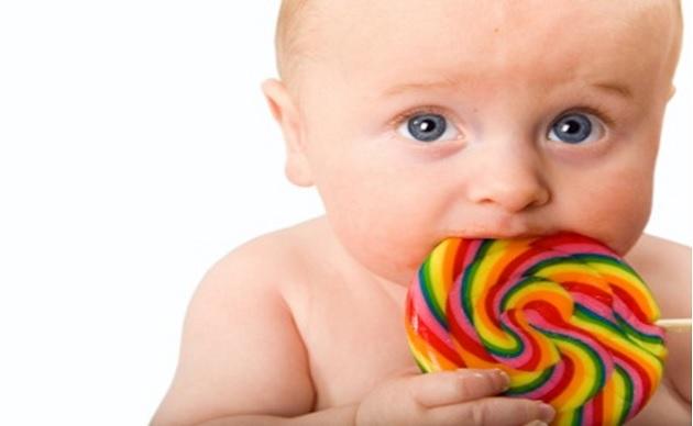 şeker ve bebekler