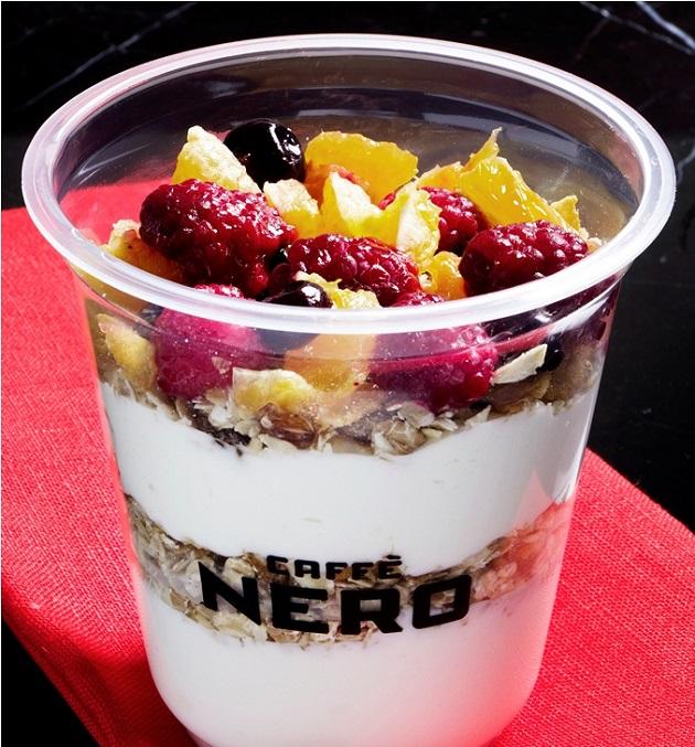 Cffe nero meyveli yoğurt