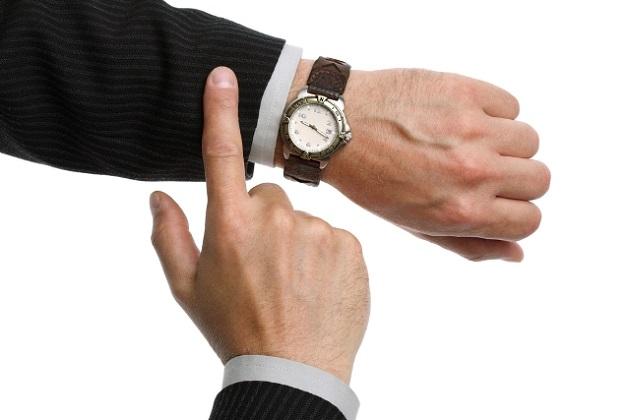 işe zamanında gidin
