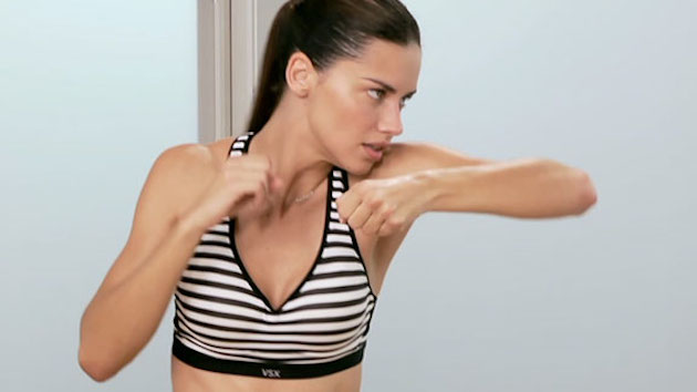 Adriana Lima Train Like an Angel