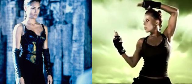 Mortal Kombat'ın filminin Kitana'sı Les Mills'in Bodycombat'ına karşı