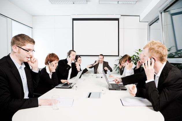 Konferenzraum - Stress