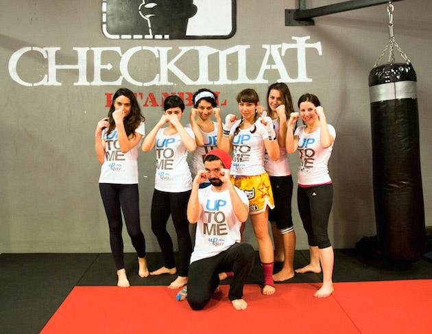 Uplifers ekibinin muay thai fitness deneyimi