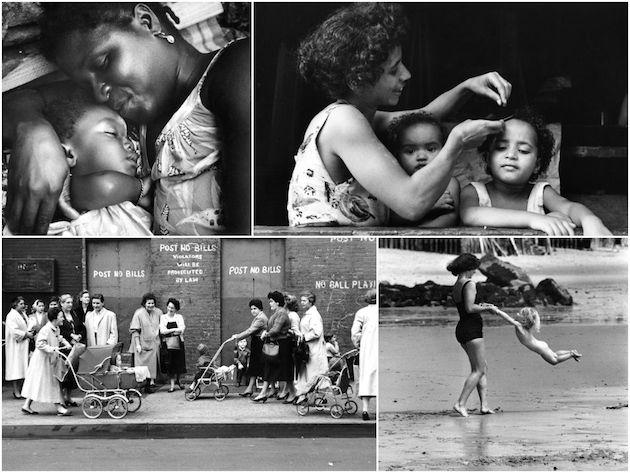 Anne ve Çocukların Fotoğrafları