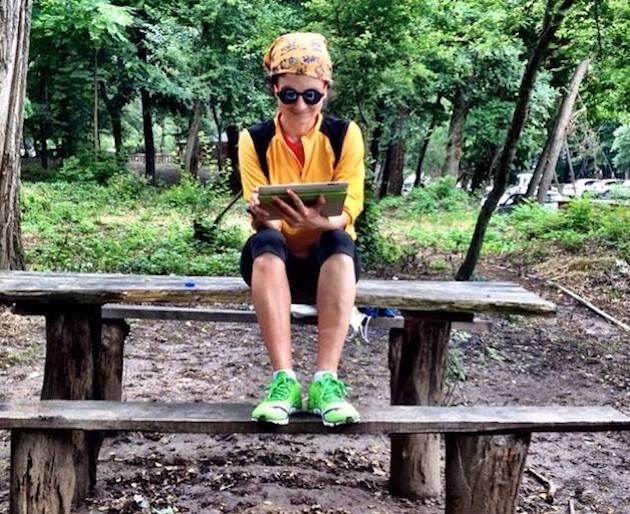 ormanda kitap