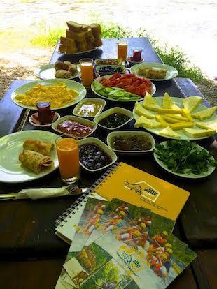 Caya karsi kahvaltı eco family park