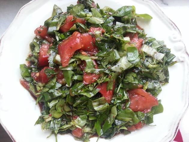 Semizotlu salata