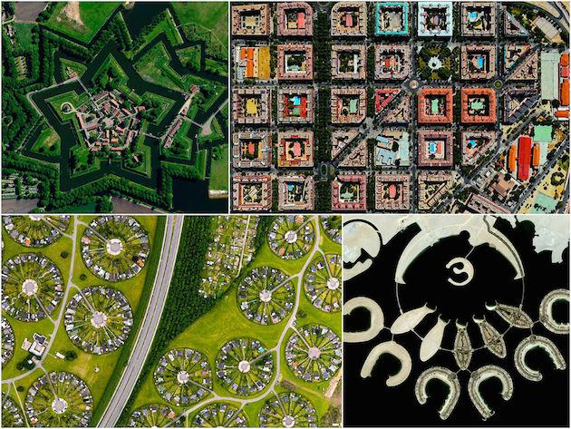 Dünyanın En Güzel Şehirlerine Uydu Bakışı