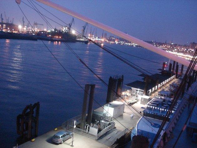 hamburg gece liman