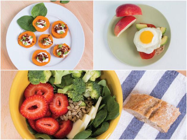 sağlıklıçğle yemeği