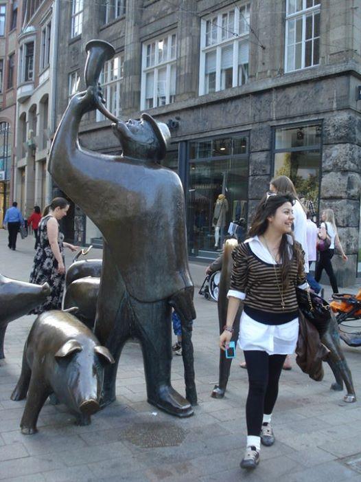 domuzlu heykel