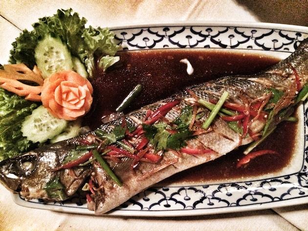 Buharda Zencefilli Balık
