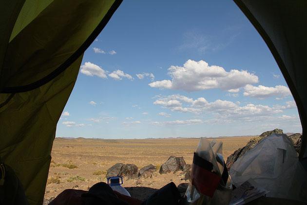 Gobi Desert, 100km from the Chinese border