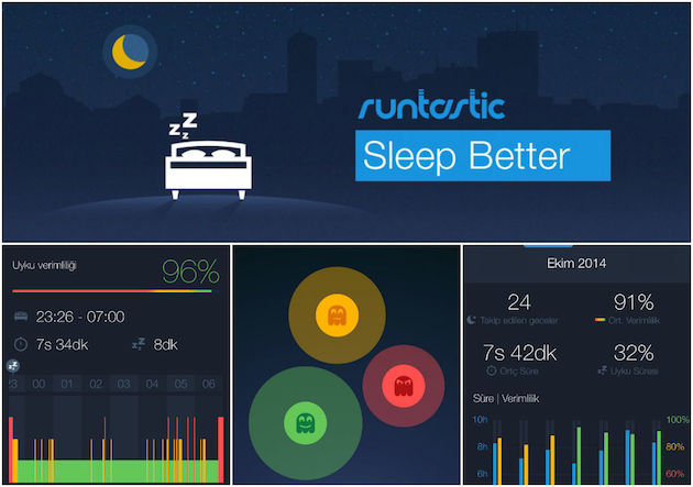 runtastic sleep bett