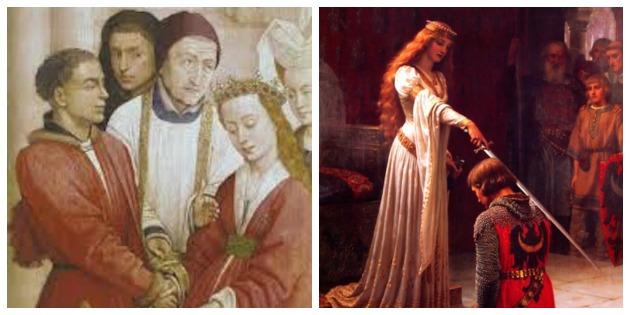 ortaçağ  Aşkın ve tutkunun evrensel tarihi: Tarih dönemlerine göre aşk, evlilik ve tutkunun evrimi orta C3 A7a C4 9F
