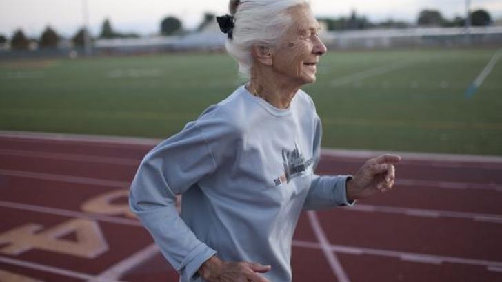 en yaşlı koşucu