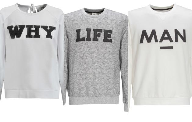 beymen yazılı sweatshirt