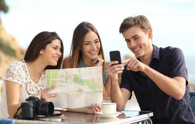 tatilde akıllı telefon