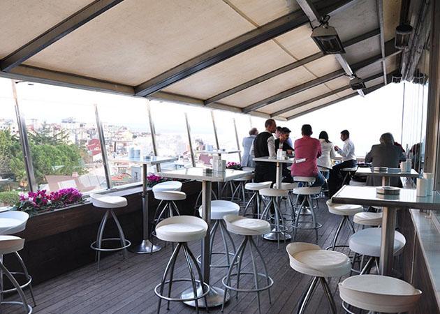 Istanbulda Teraslı Mekanlar