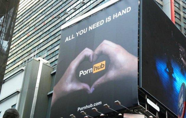 Times Meydanı'nda 'All we need is hand'