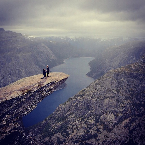 dağda evlenme teklifi