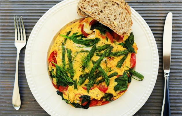 kuşkonmaz metiniçi omlet